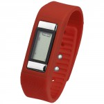 Activity Watch Con Contapassi Get-Fitter Rosso