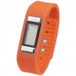 Activity Watch Con Contapassi Get-Fitter Arancio