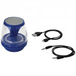 Altoparlante Bluetooth® Con Luce Rave Blu Intermedio