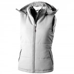 Bodywarmer Da Donna Gravel Solido Bianco L
