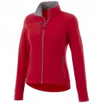 Giacca In Microfleece Pitch Da Donna Rosso L