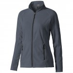 Felpa Da Donna Zip Intera Polyfleece Rixford Grigio Intermedio Xl